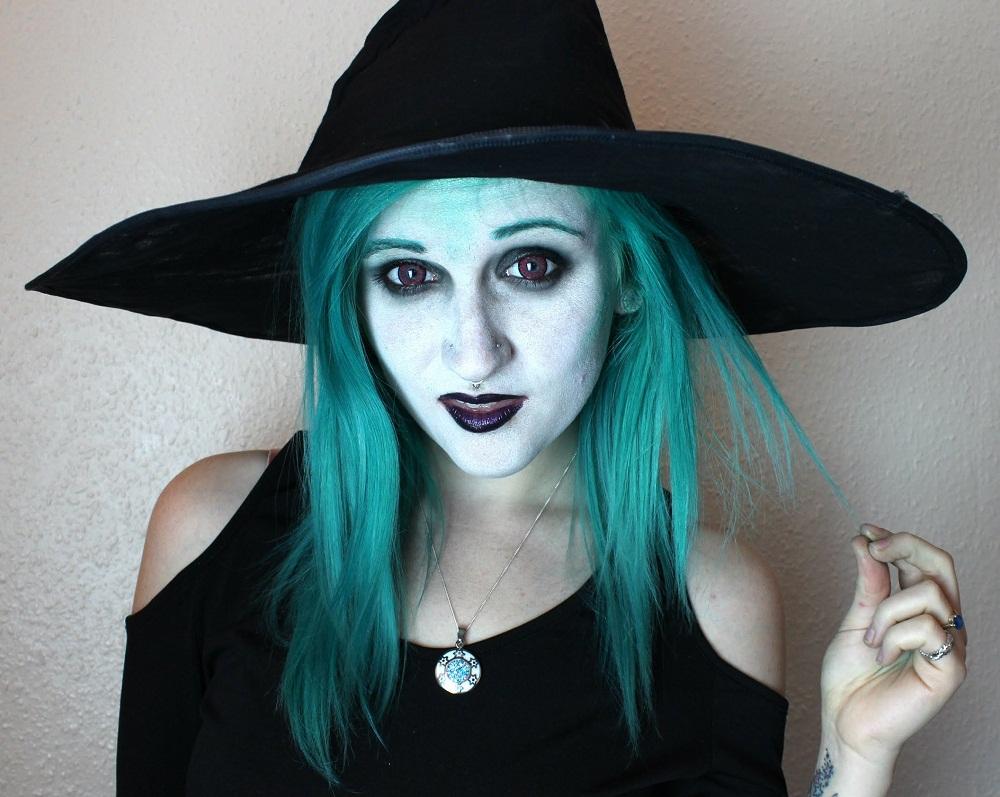 Макияж для ведьмы для хэллоуина для девушек